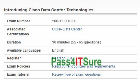 Free New Updation Latest Cisco 200 155 Dumps Ccna Data Center Exam