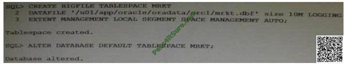 pass4itsure 1z0-060 exam question q9