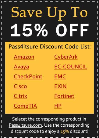 Pass4itsure discount code list 2021